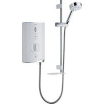 Mira Sport Max Electric Shower White / Chrome
