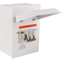 Metal 17th Edition Amendment 3 Garage Consumer Unit