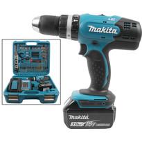 Makita DHP453SFTK 18V LXT Li-Ion Cordless Combi Drill & Accessory Kit