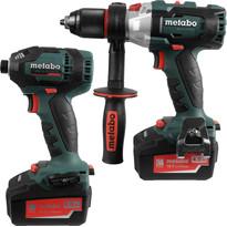 Metabo LXTBL 18V Li-Ion Cordless Brushless Combi Drill & Impact Driver Twin Pack