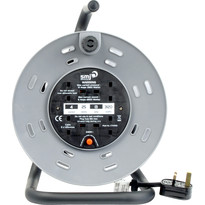 4 Socket 13A 240V Heavy Duty Open Cable Reel