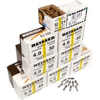 Reisser Cutter Pozi Screw Trade Pack