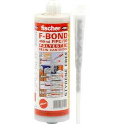 Fischer Fischer FIP 300 SF Styrene Free Resin 300ml Each C 700 SF 400ml - 10001 - from Toolstation