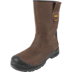 DeWalt DeWalt Haines Waterproof Safety Rigger Boots Size 9 - 10085 - from Toolstation