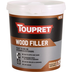 Toupret Toupret Ready Mixed Wood Filler 1.25kg - 10167 - from Toolstation