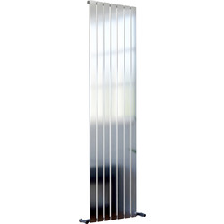 Ximax Ximax Oxford Single Designer Radiator 1800 x 480mm 3183Btu Chrome - 10217 - from Toolstation