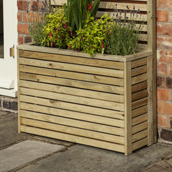 Rowlinson Rowlinson Garden Creations Tall Planter 60cm (h) x 90cm (w) x 30cm (d) - 10273 - from Toolstation