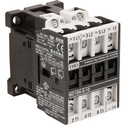 IMO IMO 3 Pole Contactor 18A 7.5kW 230v Coil - 10301 - from Toolstation