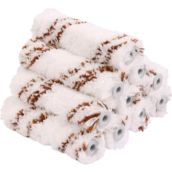 "Pioneer Brush Co Pioneer 4"" Mini Roller Sleeves Microfibre - 10340 - from Toolstation"