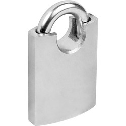 Steel Padlock 50 x 10 x 27mm CS - 10345 - from Toolstation