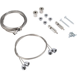 LED 600 x 600 36W Panel Light Hanging Kit - 10444 - from Toolstation