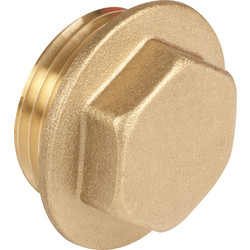 "Made4Trade Made4Trade Brass Flanged Plug 1/4"" - 10489 - from Toolstation"