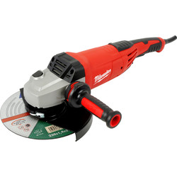 Milwaukee Milwaukee AG22-230DMS 2200W 230mm Angle Grinder 110V - 10513 - from Toolstation