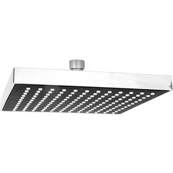 HEAD Square Rain Shower Head 200mm - 10575 - from Toolstation