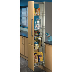 Hafele Sige Pull Out Larder 400mm - 10664 - from Toolstation