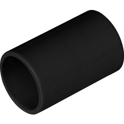 Solvent Weld Overflow Straight Coupling 21.5mm Black