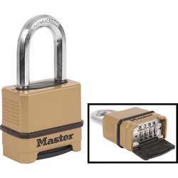 Master Lock Master Lock Excell Combination Padlock 56 x 9 x 38mm LS - 10752 - from Toolstation