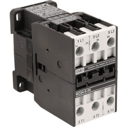 IMO IMO 3 Pole Contactor 24A 11kW 400V Coil - 10764 - from Toolstation