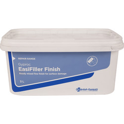 Gyproc Gyproc Easifiller Finish Filler 3L - 10793 - from Toolstation