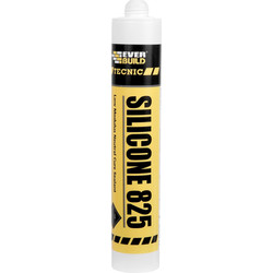 Everbuild Everbuild Silicone 825 - 380ml Black - 10882 - from Toolstation
