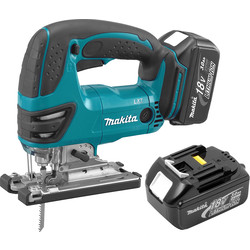 Makita Makita DJV180RMJ LXT 18V Li-Ion Cordless Jigsaw 2 x 4.0Ah - 10888 - from Toolstation