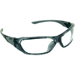 JSP JSP ForceFlex Safety Glasses Grey - Clear Lens - 10895 - from Toolstation