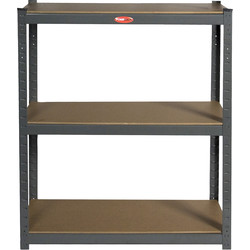 Heavy Duty Boltless Shelving System 3 Tier - 10908 - from Toolstation