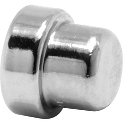 Pegler Yorkshire Pegler Yorkshire Tectite Sprint Chrome Push-Fit Stop End 15mm - 11021 - from Toolstation