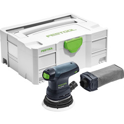 Festool Festool ETS 125 REQ-Plus 125mm Eccentric Sander 240V - 11082 - from Toolstation
