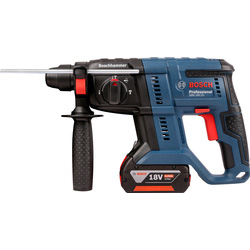 Bosch Bosch GBH 18V-20 SDS Plus Cordless Hammer Drill 2 x 4.0Ah - 11104 - from Toolstation