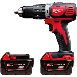 Milwaukee Milwaukee M18BPD-302C 18V Li-Ion Cordless Compact Combi Drill 2 x 3.0Ah - 11117 - from Toolstation
