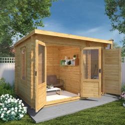 Mercia Delamere Log Cabin - 19mm