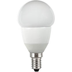 Corby Lighting Corby Lighting LED Mini Globe Frosted Lamp 6W E14/SES 470lm Warm White - 11139 - from Toolstation