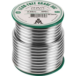 Plumbing Solder 0.5kg Lead-free - 11150 - from Toolstation