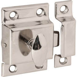 Cupboard Catch Nickel Plated - 11212 - from Toolstation