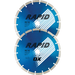 Spectrum Spectrum General Purpose XR-RC10 Diamond Blade 230 x 22mm - 11544 - from Toolstation