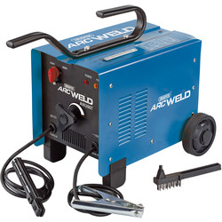 Draper Draper 200A Turbo Arc Welder 230/400V - 11648 - from Toolstation