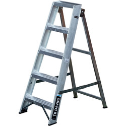 TB Davies TB Davies Industrial Swingback Step Ladder 5 Tread SWH 2.2m - 11662 - from Toolstation