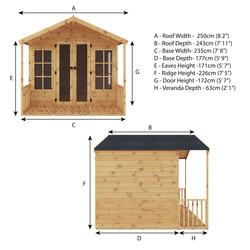 Mercia Premium Traditional Summerhouse