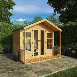 Mercia Mercia Premium Traditional Summerhouse 8' x 8' - 11704 - from Toolstation