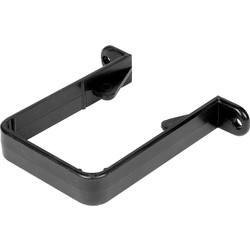 Aquaflow Square Downpipe Clip Black - 11715 - from Toolstation