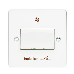 Crabtree 6A Fan Isolator