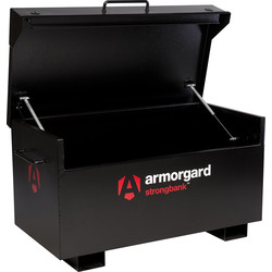 Armorgard Armorgard Strongbank Site Box 1310 x 690 x 665mm - 11785 - from Toolstation