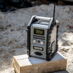 Bauker DAB+ Bluetooth Jobsite Radio