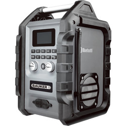 Bauker Bauker DAB+ Bluetooth Jobsite Radio 240V/18V - 11953 - from Toolstation