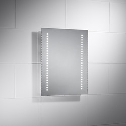 Sensio Sensio Isla Battery Operated IP44 LED Mirror  - 12048 - from Toolstation