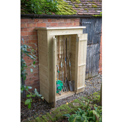 Forest Forest Garden Pressure Treated Tall Garden Store Pent Shiplap 178 x 108 x 55cm - 12073 - from Toolstation