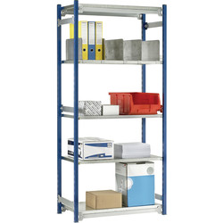 Barton Barton 5 Tier Boltless Shelving Initial Bay 1500 x 942 x 328mm - 12094 - from Toolstation