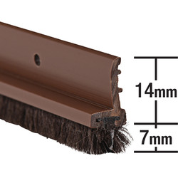 Stormguard Stormguard Door & Window Strips Brown - 12149 - from Toolstation
