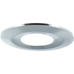 Integral LED Integral LED Integrated Fire Rated IP65 Bezel Bezel Satin Nickel - 12359 - from Toolstation